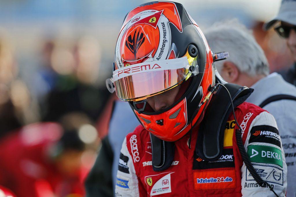 F3 | Prema conferma Marcus Armstrong per il 2019