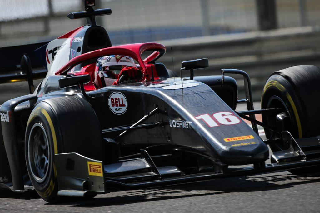 F2 | Salto di categoria per Giuliano Alesi, confermato da Trident