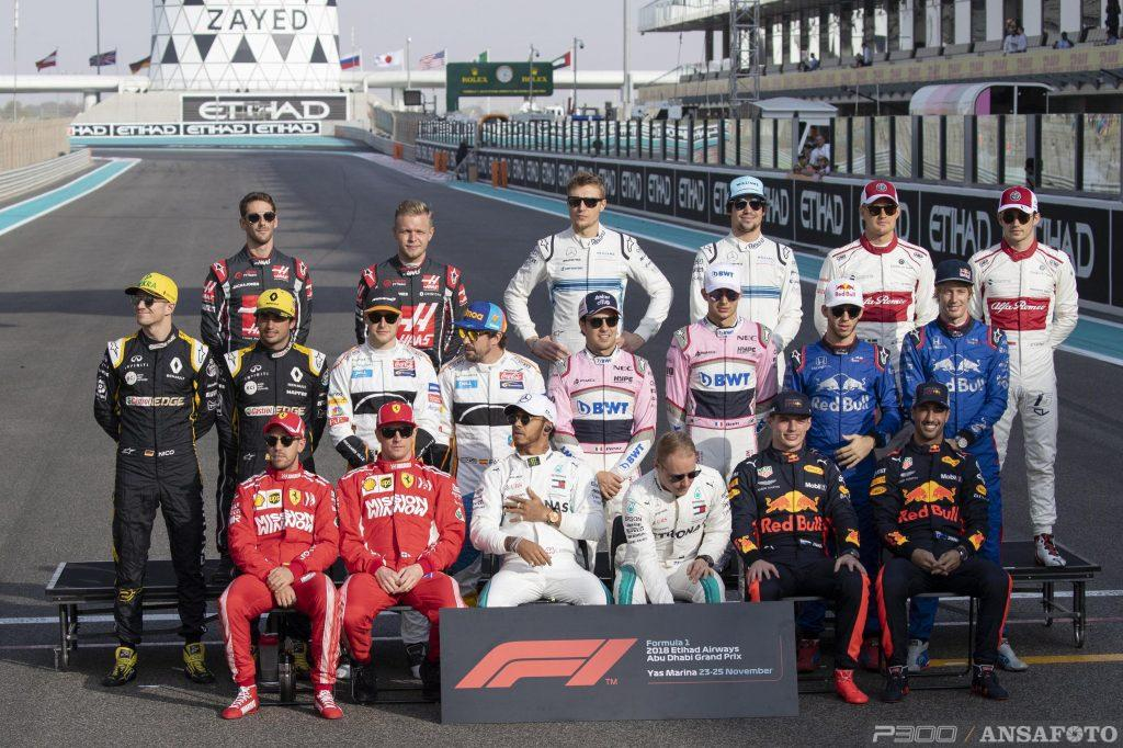F1   La entry list ufficiale del campionato 2019