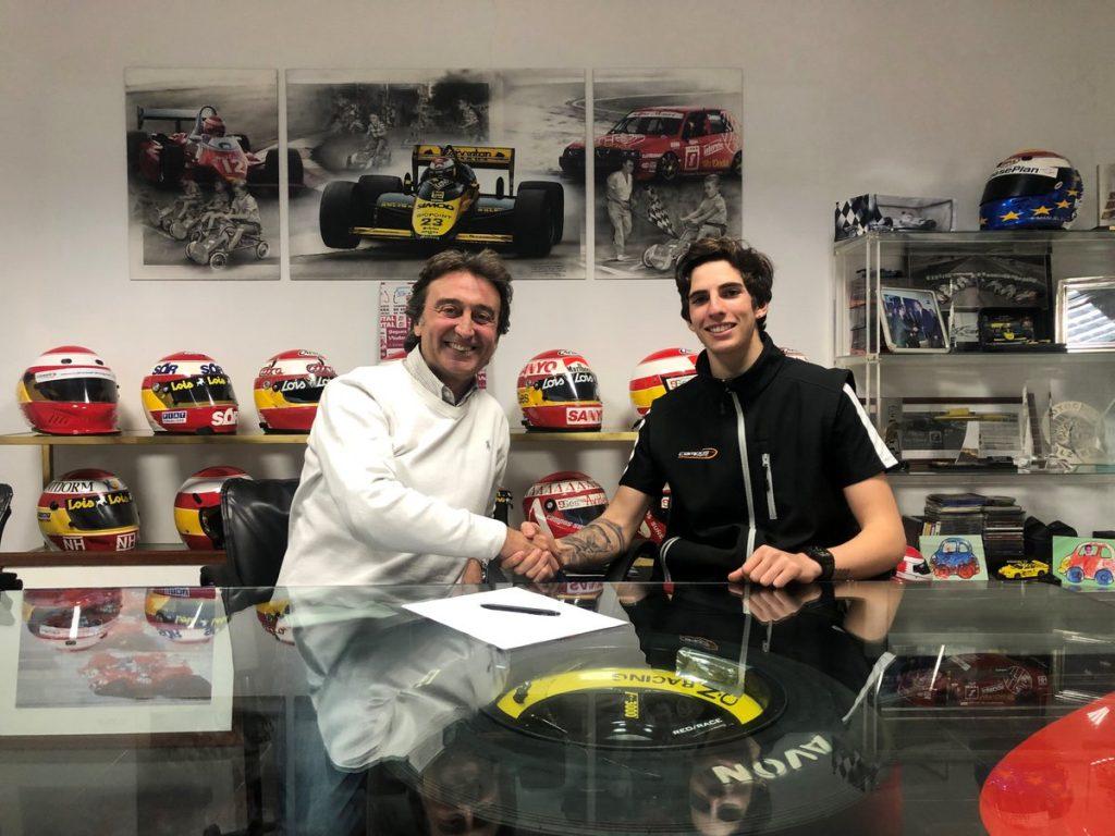 F3 | Sebastián Fernández primo pilota del team Campos