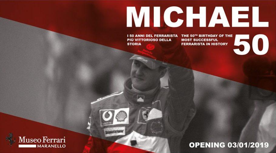 F1 | Al Museo Ferrari la mostra 'Michael 50', in onore del Kaiser