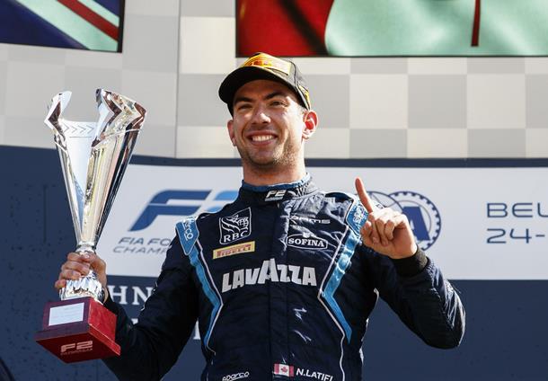 F2 | Quarta stagione con il team DAMS per Nicholas Latifi