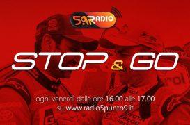 """""""Stop&Go"""" live venerdì 18 gennaio alle ore 16:00 su Radio 5.9"""