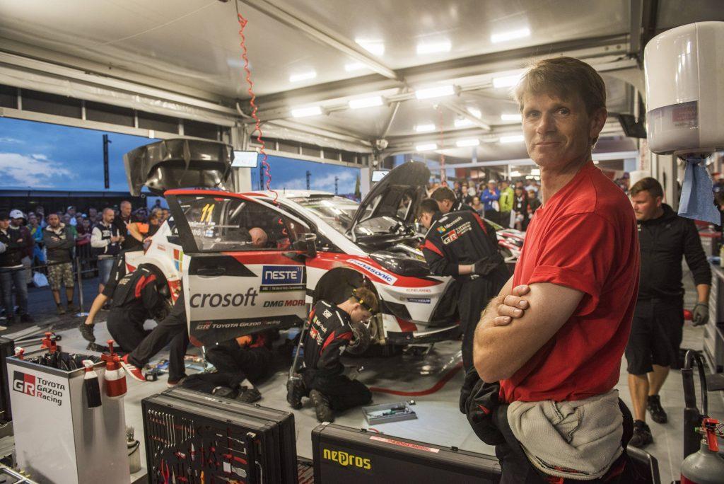 WRC   Marcus Grönholm al via del Rally di Svezia su una Toyota