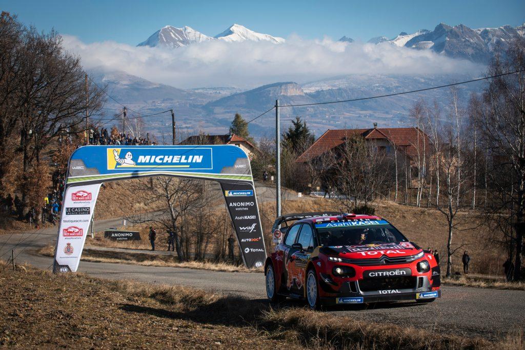 WRC   Montecarlo: Ogier approfitta di un errore di Neuville e chiude il venerdì in testa