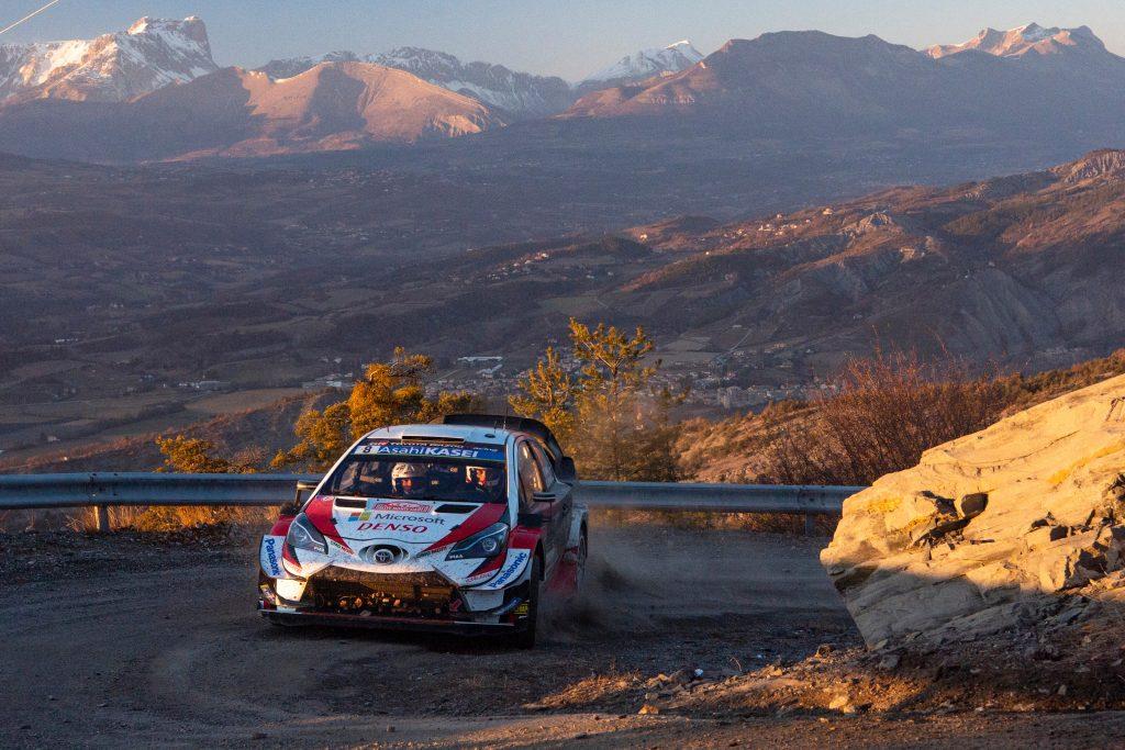 WRC   Montecarlo: Tänak completa il filotto, Ogier conserva la leadership