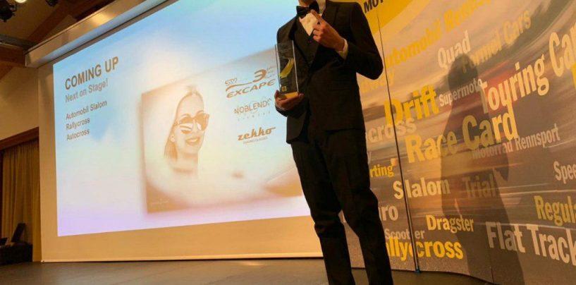 """<span class=""""entry-title-primary"""">Andrea Cola premiato dall'Austrian Motorsport Federation</span> <span class=""""entry-subtitle"""">Terzo premio dopo quelli di Campione FIA-CEZ 2018 e secondo arrivato nell'Eset V4 Cup</span>"""