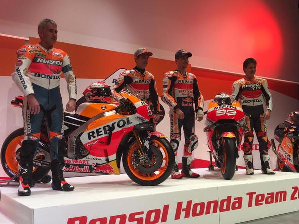 MotoGP | Presentata la nuova Honda RC213V del team Repsol HRC