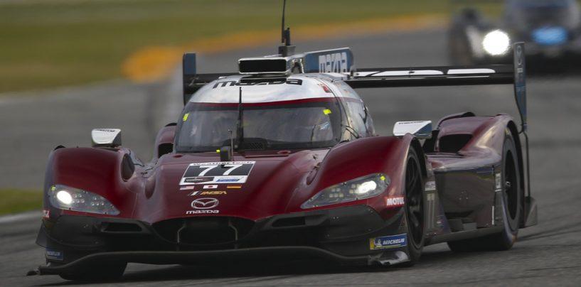 """<span class=""""entry-title-primary"""">24h di Daytona: Mazda domina nei test collettivi</span> <span class=""""entry-subtitle"""">Le vetture del team Joest si candidano come favorite per la gara. Corvette in testa tra le GTLM</span>"""