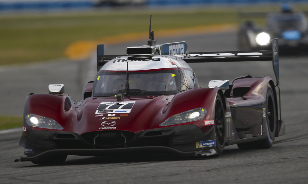 24h di Daytona: Mazda domina nei test collettivi