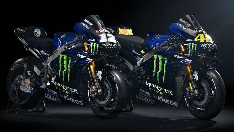 MotoGP   Presentata la nuova Yamaha M1 Factory Monster Energy
