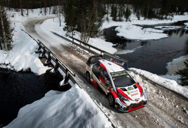 WRC | Svezia: Tänak solitario leader, lotta a tre per il secondo posto