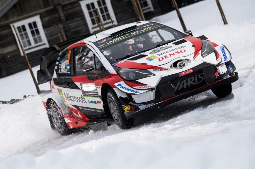 WRC | Svezia: sbaglia anche Suninen, Tänak torna in testa