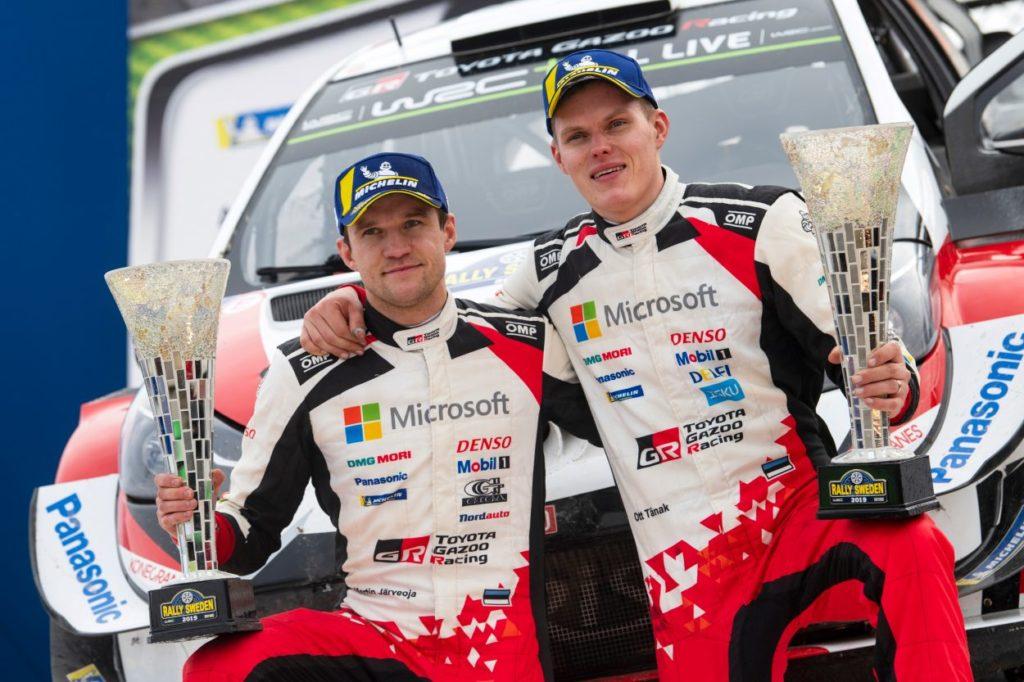 WRC | Ott Tänak vince il Rally di Svezia ed è leader del campionato