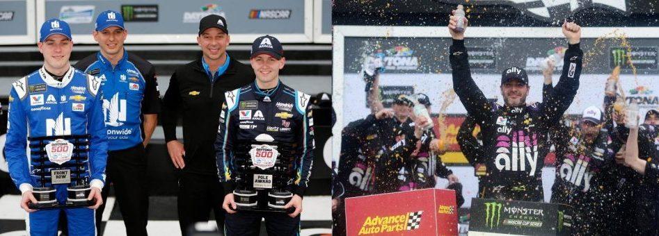 NASCAR | Byron si aggiudica la pole della Daytona500, Johnson vince