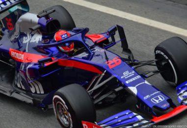 F1 | Barcellona Test Day 3: Kvyat chiude in testa. Le foto della giornata.