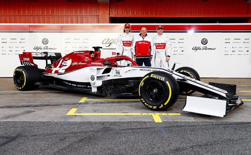 F1   L'Alfa Romeo svela al Montmelò la C38