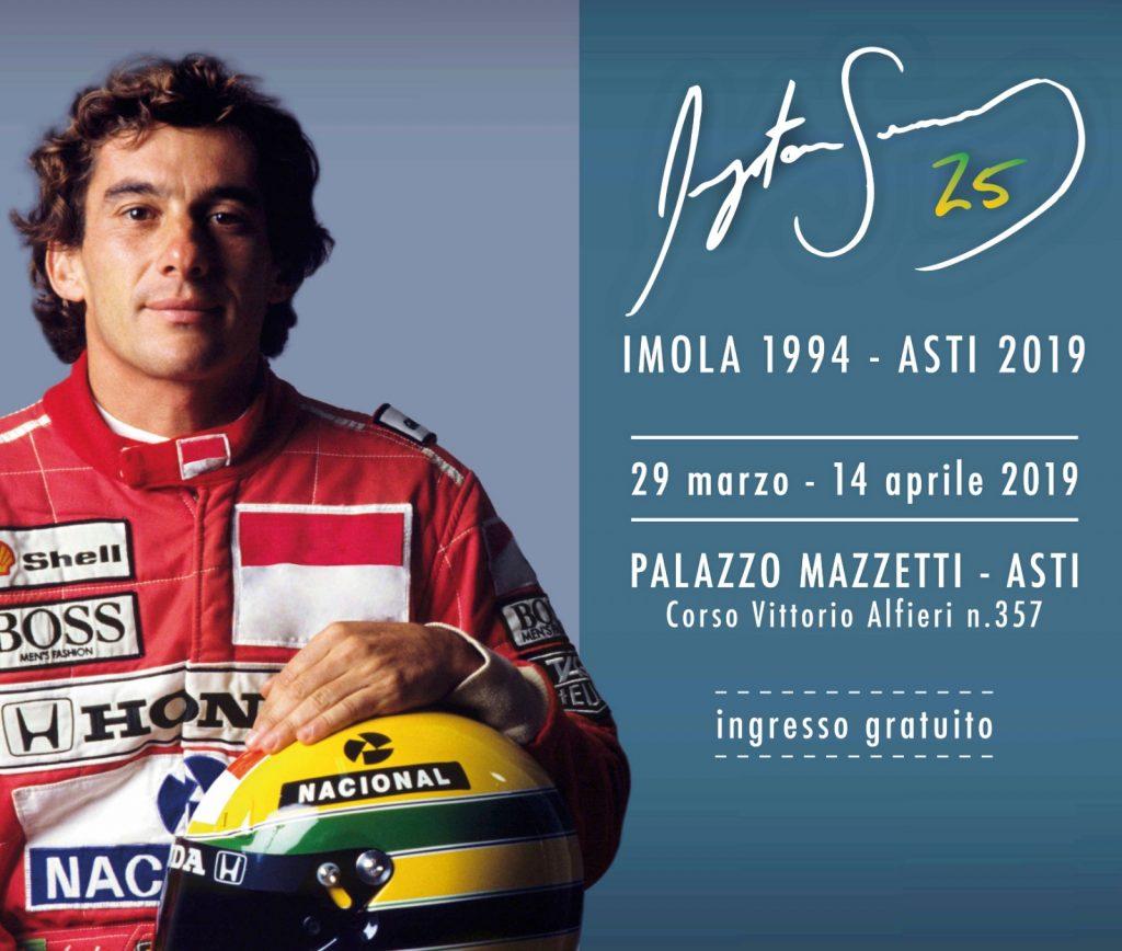 "F1 | Arriva ad Asti ""Ayrton Senna 25"", una nuova mostra su Magic 1"
