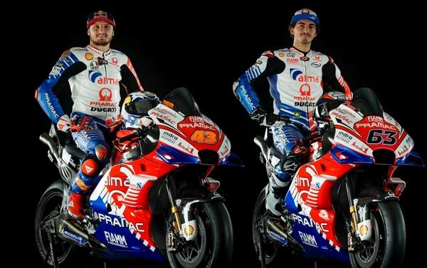 MotoGP | Presentato il team Alma Pramac Ducati