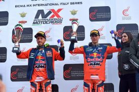 MXGP | Cairoli e Prado vincono i titoli internazionali d'Italia a Mantova