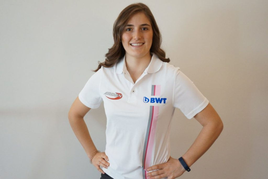 F2   Tatiana Calderón si lega al team Arden