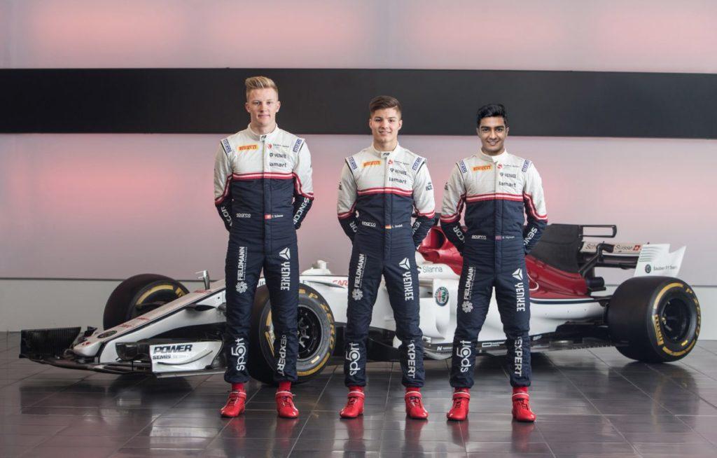 F3   Charouz e Campos completano le line-up, Petrov con Jenzer