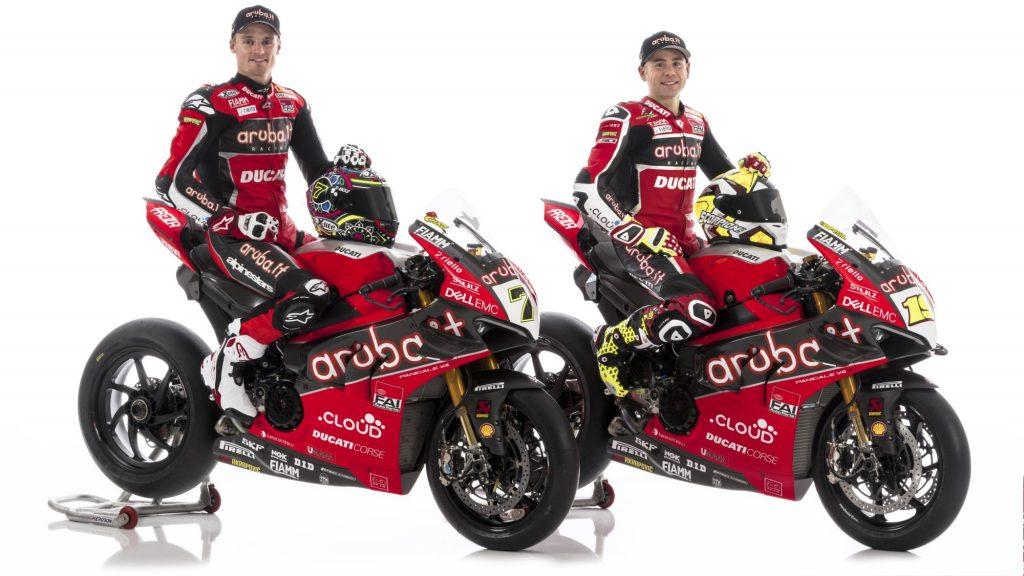 SBK | Presentato il team Ducati Aruba.it e la prima quattro cilindri Superbike del marchio
