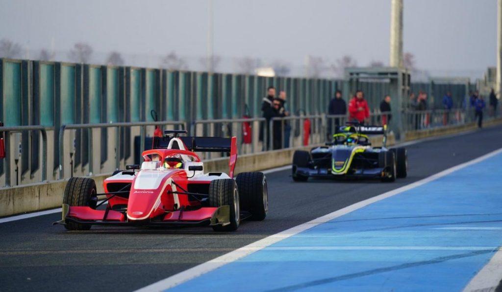 F3 | Completato il primo shakedown a Magny-Cours