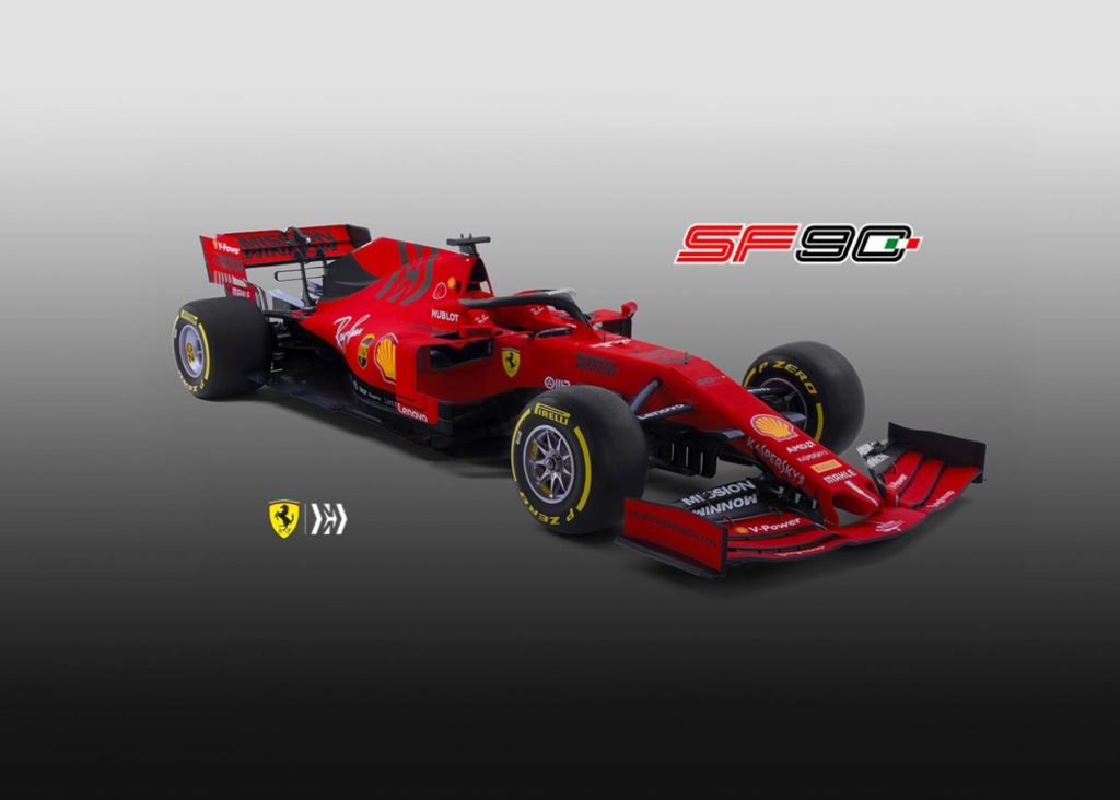 F1 | SF90: ecco la nuova Ferrari per il mondiale 2019