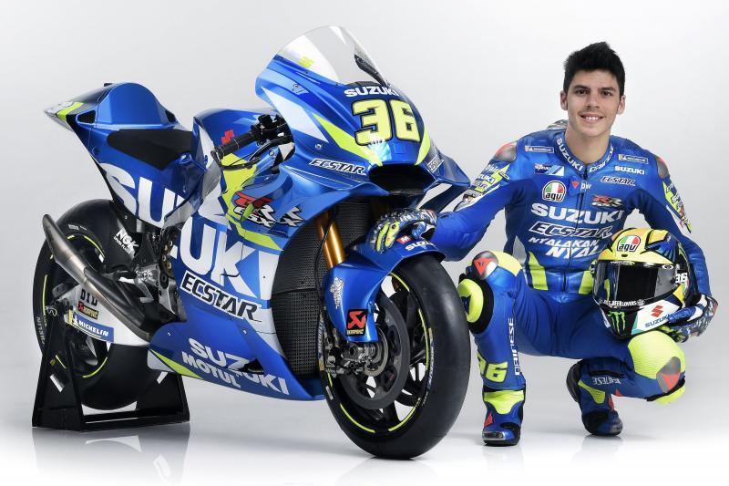 MotoGP | Presentato il team Suzuki e la nuova GSX-RR