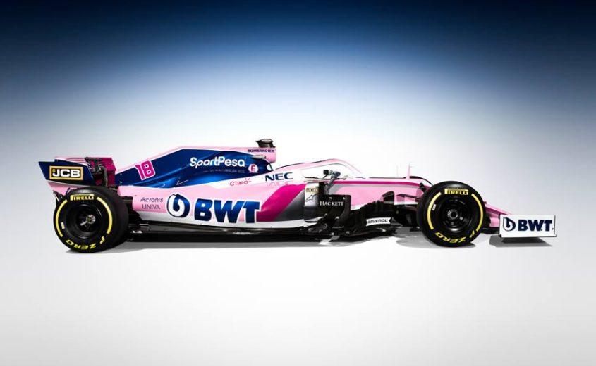 F1 | Racing Point presenta la sua livrea 2019 1