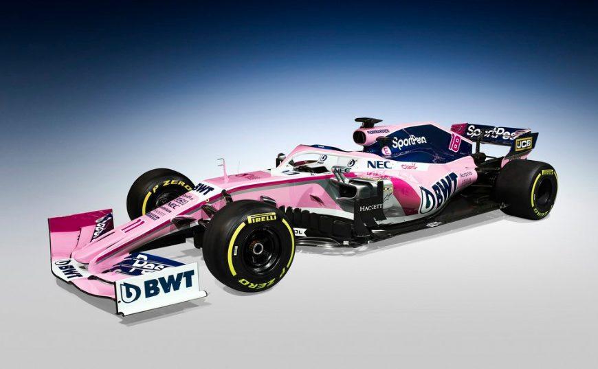 F1   Racing Point presenta la sua livrea 2019