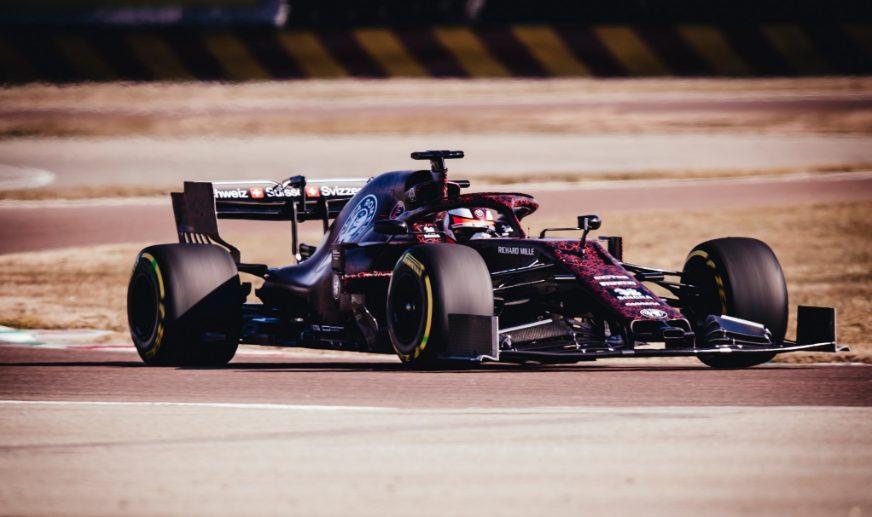 F1 | Raikkonen in pista con l'Alfa Romeo a Fiorano
