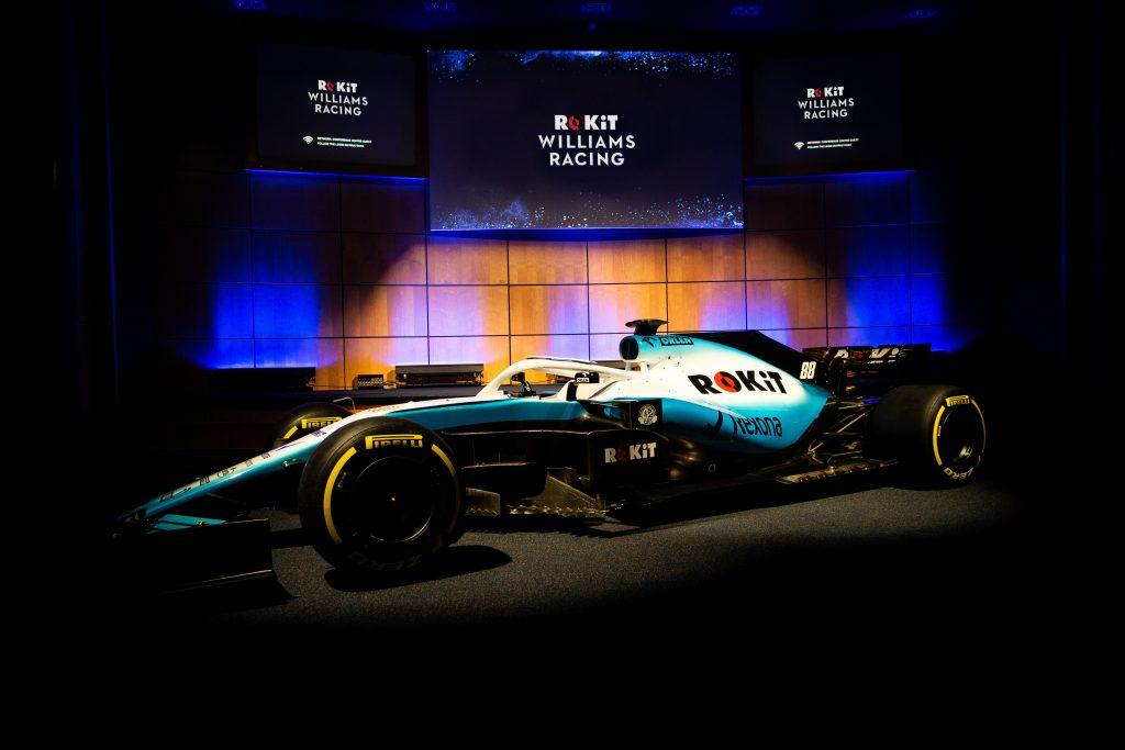 F1 | Williams toglie i veli alla sua nuova livrea