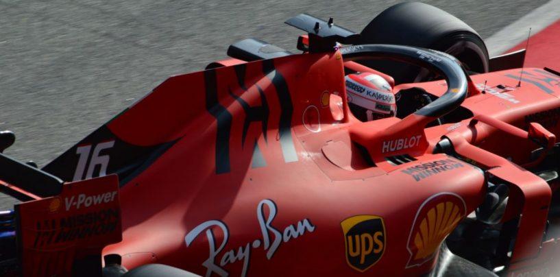 "<span class=""entry-title-primary"">F1 | GP Bahrain, FP1: doppietta Leclerc - Vettel</span> <span class=""entry-subtitle"">Ferrari ok nel primo turno di libere a Sakhir. Poi Mercedes e Red Bull</span>"