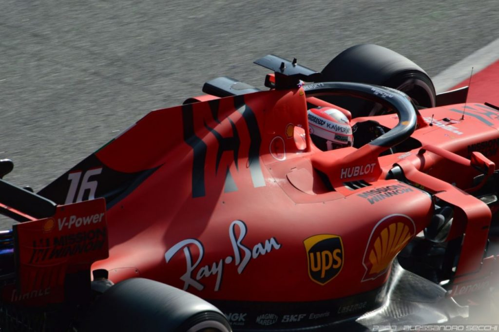 F1   GP Bahrain, FP1: doppietta Leclerc - Vettel