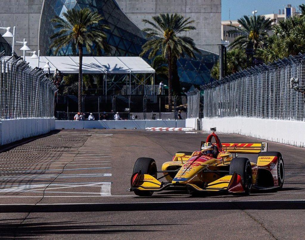 Indycar   GP St.Petersburg: Hunter-Reay il più veloce nelle libere del venerdì