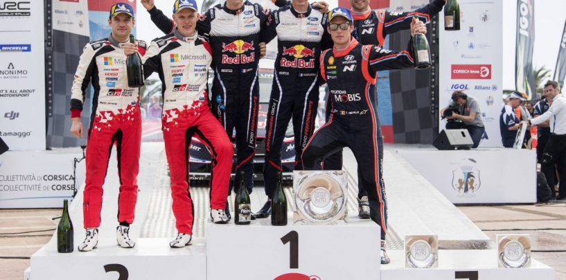 """<span class=""""entry-title-primary"""">WRC   Rally di Corsica 2019 - Anteprima</span> <span class=""""entry-subtitle"""">Loeb sfida i top 3 sul suo terreno di caccia, funestato dal maltempo negli ultimi giorni</span>"""