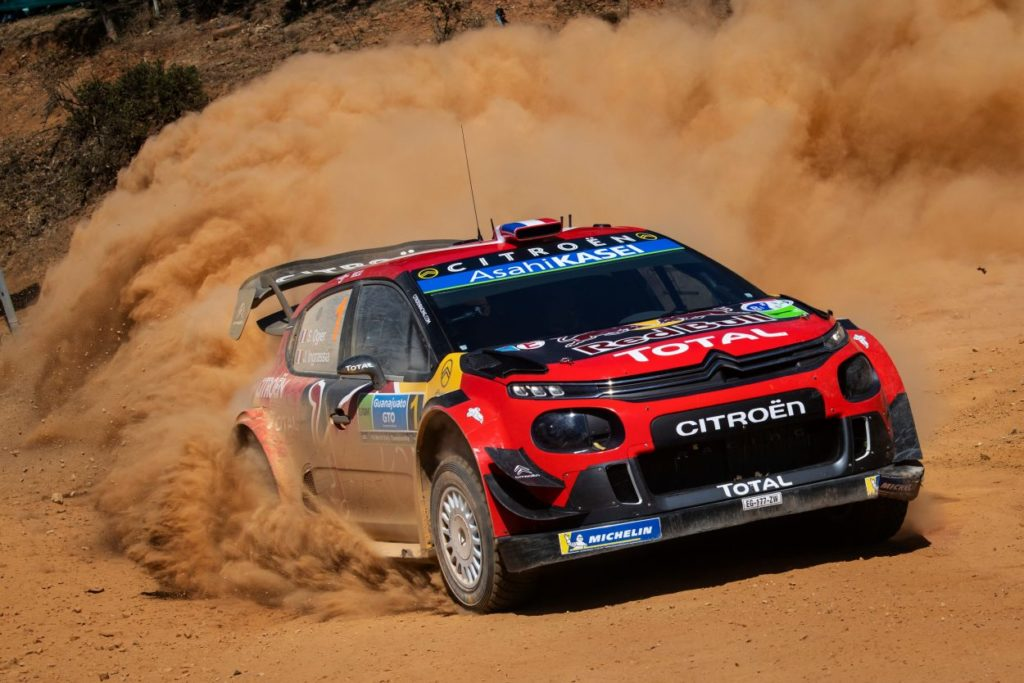 WRC   Messico: Ogier fora ma resta al comando, problemi per Meeke