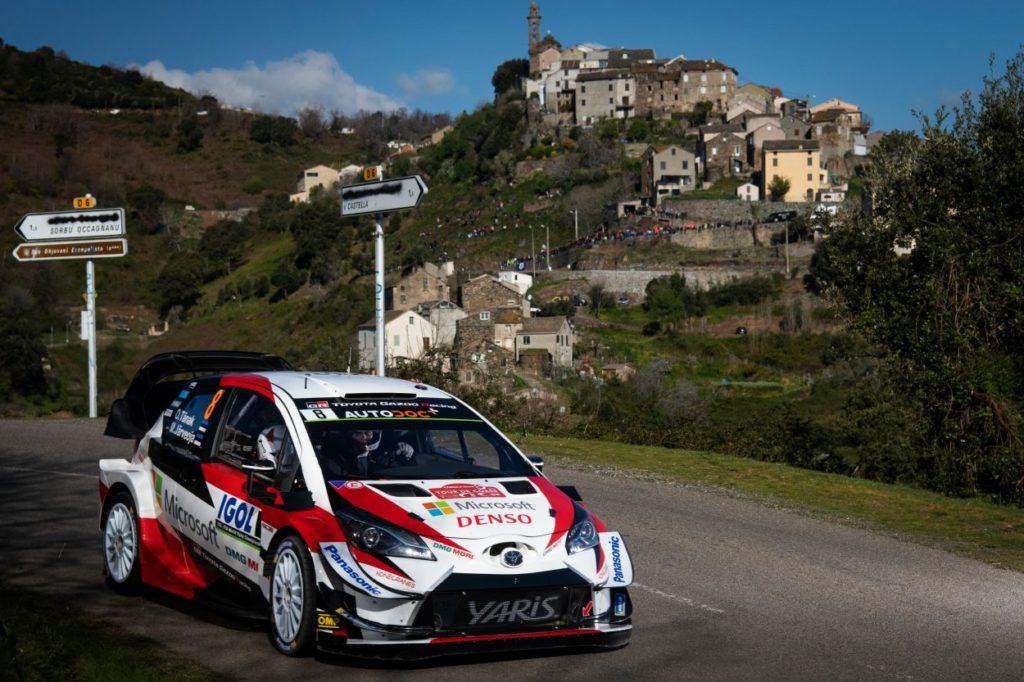 WRC | Corsica: Tänak subito al comando, Ogier nelle retrovie
