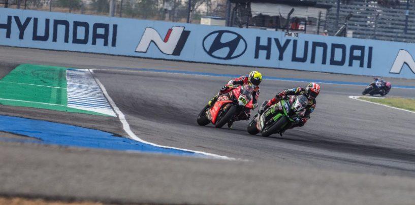 """<span class=""""entry-title-primary"""">SBK   GP Thailandia: la bandiera rossa ferma la SP Race, Bautista si prende i 12 punti</span> <span class=""""entry-subtitle"""">Incidente tra Camier e Warokhorn al settimo giro, stesso podio di gara-1</span>"""