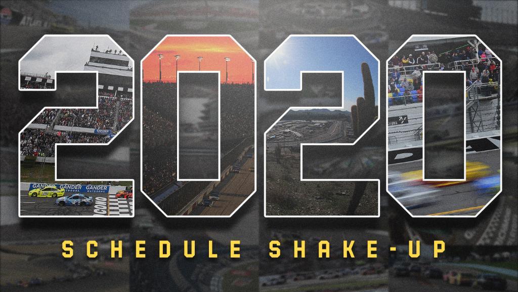 NASCAR   Rivoluzione nel calendario 2020 della Cup Series