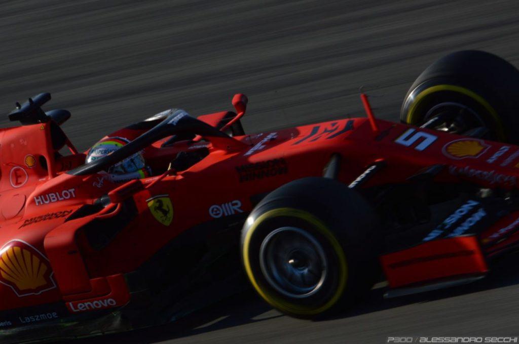 F1 | L'incidente di Vettel e la rottura del cerchio frame by frame