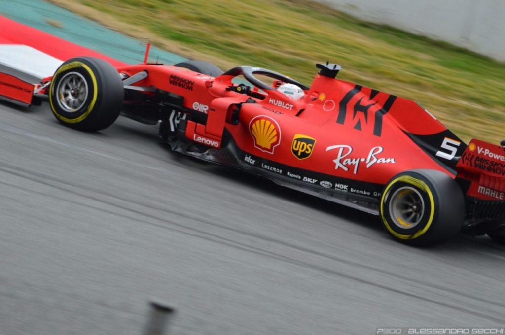 Scarico preventivo. Che sia l'ultima del Vettel in Rosso?
