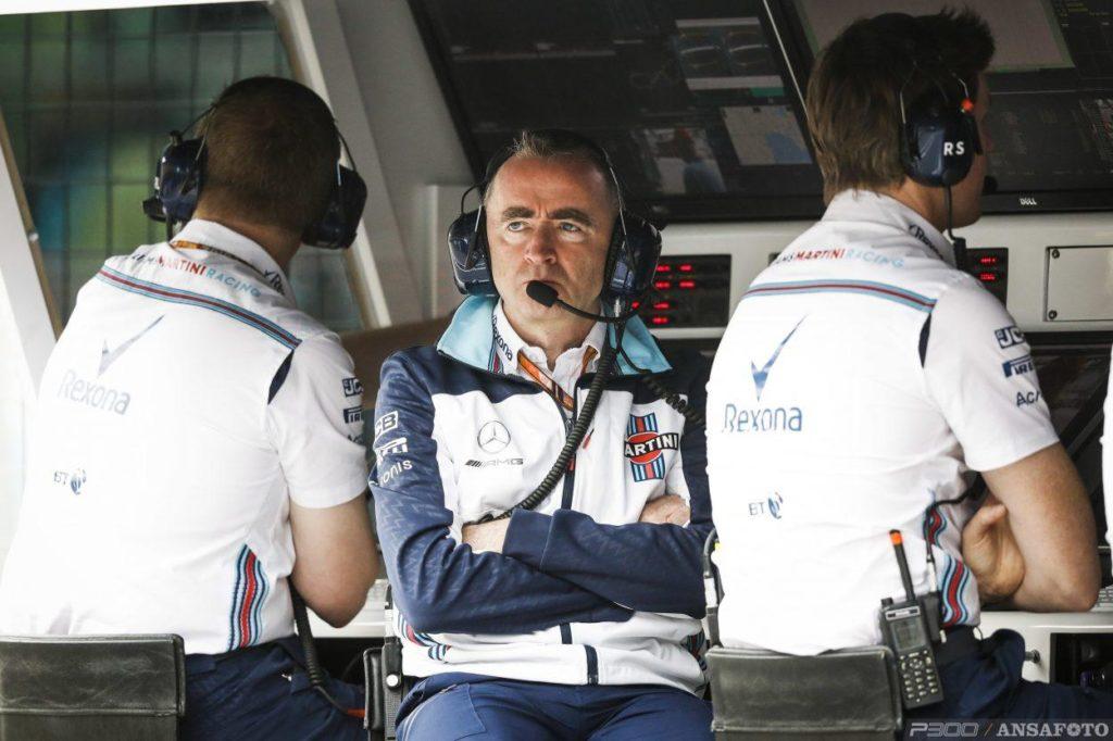 F1   Paddy Lowe lascia la Williams per motivi personali