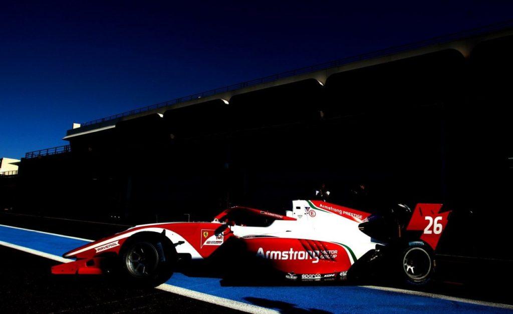F3 | Test Le Castellet: Marcus Armstrong leader nella prima giornata