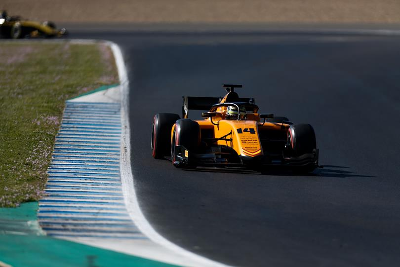 F2   Boccolacci con Campos, King e Raghunathan con MP Motorsport