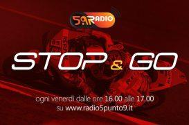 """Stop&Go"" live venerdì 8 marzo alle ore 16:00 su Radio 5.9"