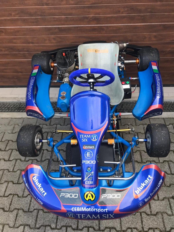 P300 è sponsor di CEBI Motorsport 3