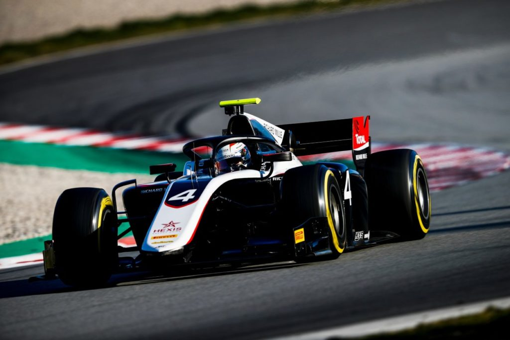 F2 | Test Barcellona: Nyck de Vries riparte al top